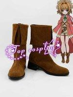ai brown - Kamigami no Asobi Kami sama no Inai Nichiyoubi Ai Astin Brown Cosplay Boots shoes