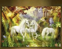 beautiful horse pictures - Beautiful Canvas Prints High quality Abstract horse Oil Painting Win instant success Picture Printed On Canvas
