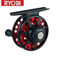 fly fishing reels - RYOBI MINI COOL and Mini PIE Metal Body Fly Fishing Reel Ice Fishing Reel