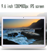 Wholesale Best Tablet phone call quad core Android System GB GB Inches Screen Multiple Functions DHL EMS
