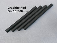Wholesale Dia L300mm Lubricate Graphite rod mini rod Cylinder of Graphite Lubricants Impregnated graphite Artificial graphite
