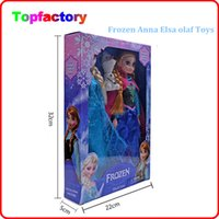 baby doll - factory price Frozen Anna Elsa olaf Toys Princess dolls Inch Nice Gift For Kids Girls free dhl shipping children gift