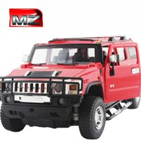 Wholesale Meizhi alloy Hummer remote control car charge electric remote control car children toy boy child toy car remote control