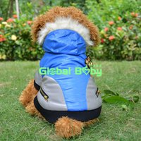 Wholesale 100 High Quality Leather Pet Clothes Windproof and Waterproof Warm Pet Puppy Dog Flying Jacket Coat