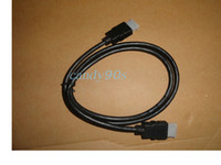 Wholesale 200pcs DHL free ship M FT HDMI to HDMI Cable v1 Audio Video Cable cable Version Gold P cable