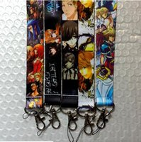 art black death - Mixed New Cartoon Kingdom Hearts Death Note Black Butler Sword Art Online Style Phone Lanyard Key ID Neck Strap