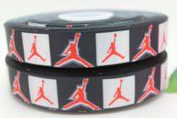 sports ribbon - 7 sport brand printed grosgrain ribbon hairbow diy party decoration OEM mm H175