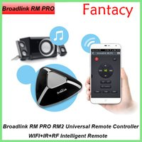 Wholesale Broadlink RM PRO RM2 Universal Remote Controller Smart Home Witch WIFI IR RF Intelligent Remote Compatible With IPhone Android