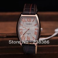 alloy ladders - TGJW429 Men Quartz Watches THEBEZ Brand Watch High Quality Clock Ladder shaped Roman Numbers Watch Face
