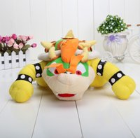mario plush - Newest Super Mario plush toys quot Koopa Bowser dragon plush doll Brothers Bowser JR soft Plush