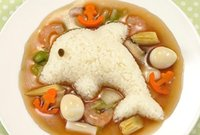 Wholesale Rabbit dolphin rice mold sets the Iidle Zushi Tool kitchen DIY set
