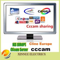 Wholesale CCcam cline for year DIGITAL HD Support Sky Germany Sky UK Canal HD CCCAM Receiver Europe Free IPTV