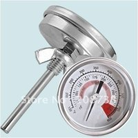 barbecue pit smoker - Barbecue BBQ Pit Smoker Grill Thermometer Gauge C
