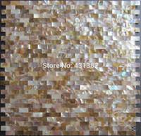 bathroom improvements - Home Improvement X20 Natural shell mosaic Tile Backsplash Freshwater Shell Mother Of Pearl Mosaic Tile Kitchen Bathroom Floor