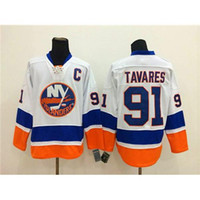 Wholesale Islanders Hockey Jerseys Popular John Tavares White American Hockey Jerseys Hot Sale Top Selling Hockey Wears Mens Ice Hockey Uniform