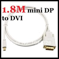 apple dual link dvi adapter - Gold FT M Mini Display Port DP Male to DVI D Male Dual Link Cable Cord Adapter For Apple Macbook Tab PC