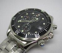 antique bonds - Luxury James Bond Mens Automatic Mechanical Stainless Steel Watches Original Buckle Antique Men Dress Wrist watch Blue Faces