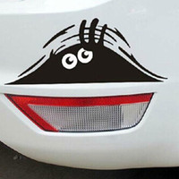 Wholesale Peeking Monster for Cars Walls vw t4 t5 Funny Sticker Graphic Vinyl Car Decal