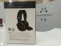 Wholesale SoundMAGIC WP10 Premium Circumaural GHz Digital Wireless Headphone System with DAC Genuine sealed in retail box