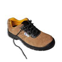 Wholesale LA1217 Suede leather safety shoes with steel toe cap