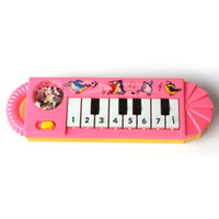 alphabet pictures color - Popular Plastic Baby Electronic Keyboard Piano With Lovely Pictures Color Random Kid Toy Musical Instrument Pink C85