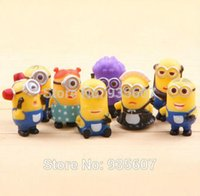 Wholesale NEW Despicable me minion toys figure toy cm cute children s American movies christmas gift for kid minions