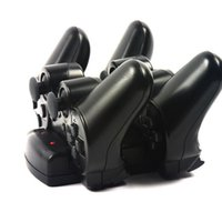 Wholesale 2 in Gamepade Charger Dock Station for Sony PS PS3 Wireless Bluetooth Move Controller