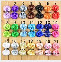 bb fabrics - 2016 New Foreign trade high grade children s jewelry Shiny double sided embroidery Tire color bowknot hairpin BB