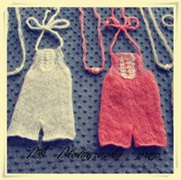 Wholesale Knitted mhair baby pants newborn photography props
