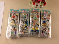 Wholesale Minions tags Children bubble stick Cartoon stickers stickers toys Minions Wall Stickers Home Décor Students of stickers Cartoon wall sticker