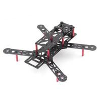 Wholesale 250mm Mini Quadcopter Multicopter Fiberglass Frame Kit for ZMR250 QAV250 H250 Drone Quadrocopters Accessories Spare Parts