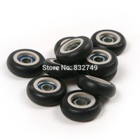 Wholesale 10 x23x7 mm Plastic Coated Small Pulley ZZ Ball Bearings Deep Groove Ball Bearings order lt no track