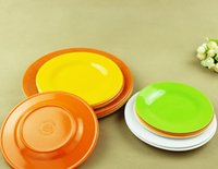kitchen ware - Super Melamine wares tablewares dinnerware kitchen round food plate good quality China wholesaler low price a