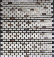 Wholesale natural color mother of pearl shell tile shellmosaic wall tiles brick tile for interior decoration