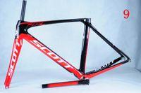 Wholesale 2014 Latest Scott Foil Road Bicycle Bike Frames Carbon Fiber Road Bike Frameset Stiffness Bike Size Carbon Bike Parts