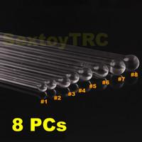 Wholesale Crystal Glass Pyrex Catheter Sounds Urethral Enlarger Enhancer Dilator Penis Plugs Sounding Device Sex Toys Small Large Complete Set