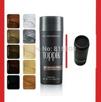 beauty keratin - Beauty Salon Hair Loss Concealer Instant Styling Powders g Toppik Hair Keratin Fiber Hair Building Dark Brown Black Colors
