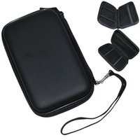 Wholesale 1 Portable Hard Disk Drive Twin Zipper Cover Bag Case quot HDD Bag Hardcase Black Color