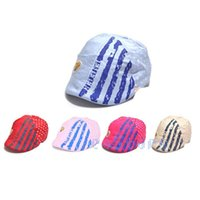 Wholesale Fashion Baby Girls Boys Kids Unisex Cotton Toddler Hat Cap Fedora Sun Hat Peak Cap Visors