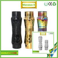 Cheap 18650 18350 Battery Mods Tube Christmas Decorations Best Non-Adjustable Electronic Cigarette mechanical mod mods