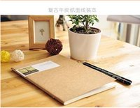 Wholesale 100pcs High Quality Korean Vintage Leather Notebook A5 exercise book cm p Paper Notobooks Dhl Freeshipping