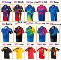 Wholesale Butterfly table tennis clothes Table Tennis badminton shirts table tennis badminton jersey uniforms BWH