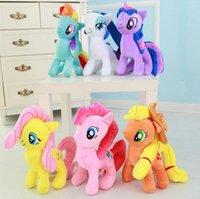al por mayor spike tv-Lovely Little Spike Beautifu Pony Peluches Unicornio Juguete Anime de dibujos animados rellenos Contton Twilight Sparkle Toys