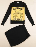 animal print - 2014 women cute little bear vintage sweater Knitted for women winter Crew Neck M L women sweaters