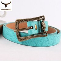 Wholesale womens new PIN buckle pu belts for women dropshipping black pink brown white free ship