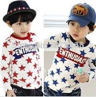 Wholesale children s star pattern shirt