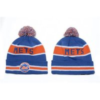 Wholesale Mets Beanies Hot Beanie Hats Fashion Baseball Knitted Hats Best Quality Winter Hats Cool Sports Beanies Cheap Pom Beanies