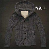 Wholesale 2014 Famous Brand Men s Sweaters man Male Hooded Sweater Jacket Coat Cotton
