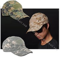acu hats - Color ACU CP Fashion Camouflage Cap Military Hat Hunting Cap Fishing Hat Resizable