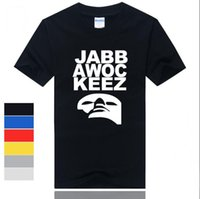 Wholesale America s first dance short sleeved T shirt jabbawockeez mask dance hip hop t shirt cotton t shirt for men shirt